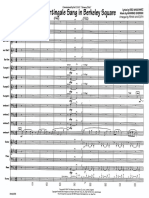 A Nightingale Sang in Berkeley Square - Airmen of Note (Arr.frank Mantooth)84P Score and Parts