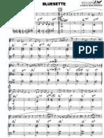 Bluesette - Frank Mantooth - 111 - Hal Leonard Combo