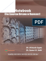EDiR Notebook (for European Diploma in Radiology)