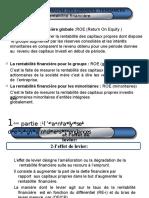 L'Analyse de La Structure Financière Des Comptes Consolidés