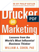 Drucker on Marketing