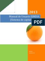 Manual Simdia Web Admin