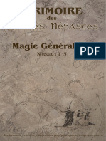 Grimoire Magie Gen GRAPHIC