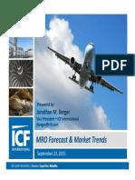 Market Forecast Key Trends Jonathan Berger Sept 23 0945