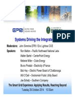 EPRI Presentation -Systems Driving the Integrated Grid v2