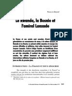 Le Rwanda La Bosnie Et l Amiral Lanxade-lnr9
