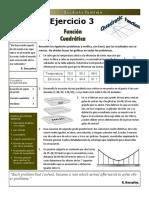 Exercise 3 - Quadratic Function