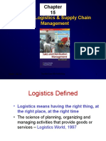 ch15MarketLogistics & SupplyChainManagement