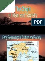 Chapter 3 Origin of Man