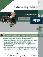 Integración Por Fórmulas 05a