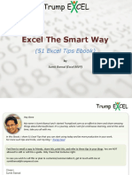 Excel the Smart Way 51 Excel Tips eBook