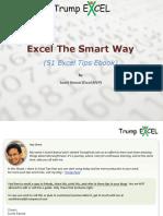 Excel the Smart Way 51 Excel Tips eBook