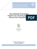 High Pressure Processing Insights 20131