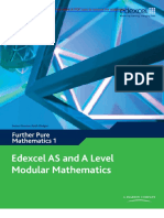 Edexcel AS and A Level Modular Mathematics Core Further Mathematics 1