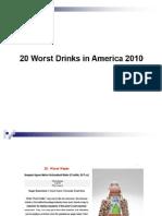 20 Worst Drinks of America