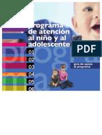 Programa de Atención Al Niño y Adolescente (PANA) SMS