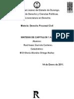 Resumen de derecho procesal civil de valle favela