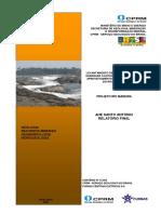 Uhe Sando Antonio - Relatório de Geologia