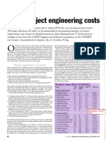 Hydro Project Engineering Costs
