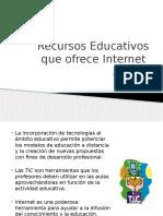 recursoseducativosqueofreceinternet-130113204554-phpapp01.pptx
