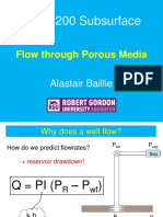 Flow in Porous Media Overview (Oct 2014)