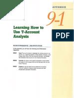 T Account Analysis