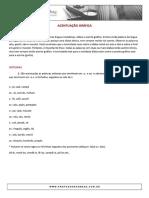 ACENTUAÇÃO GRÁFICA - PORTUGUÊS
