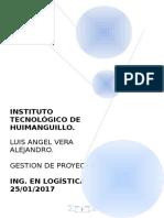 Formulación y Evaluación de Proyectos. Unidad 1