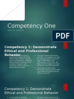 competency one