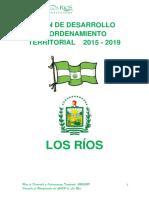 Plan de Desarrollo Territorial Los Rios