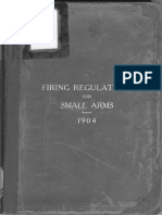XWD1904 - Firing Regulations for Small Arms