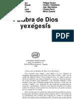 074 Palabra de Dios y Exegesis - Varios Autores