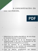 concentracion plasmatica