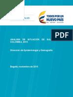Analisis Situacion de Salud en Colombia