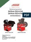 DHYN-A-TECH 6740 Svensk Manual