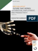 MGI a Future That Works Executive Summary