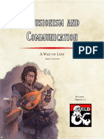 College of Illusionism and Communication (5e)