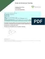 Teaming Certificate