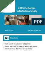 BART Customer Survey