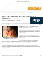 Effects of Divorce on Sposes