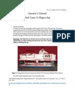 Manual for Seal Team 16 Flipper Rig