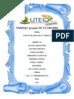 Exposicion de Economia Grupo#4