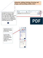 Notability MultiPages View Bookmarks and Searching