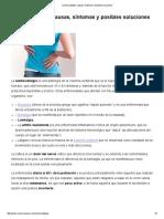Lumbociatalgia_ Causas, Síntomas y Posibles Soluciones