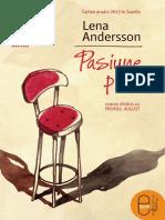 Lena Andersson-Pasiune Pura