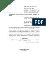 Cumplo Requerimiento y Adjunto Tasa de Observacion de Liquidacion de Pensiones Devengadas - Cesar Romero