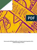Introducción del diseño gráfico en el espacio psicoterapéutico de la Fundación Hogares Claret