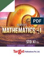 Std 11 Maths Paper 1 Maharashtra Board