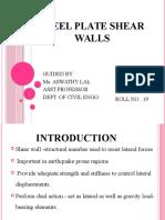 Steel Plate Shear Walls