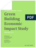 Green Building Economic Impact Study
